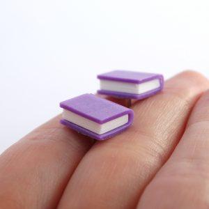 Boekjes oorstekers paars