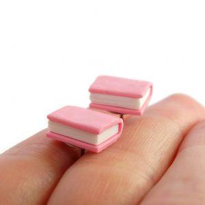 Boekjes oorstekers roze