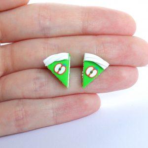 Taartpuntjes oorstekers appel groen