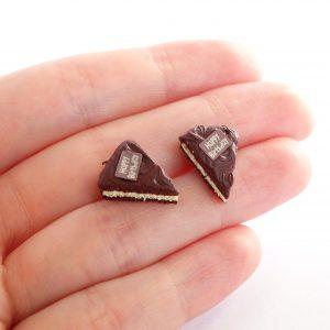 Taartpuntjes oorstekers chocolade