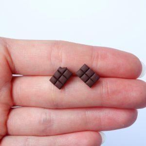 Chocolade reep oorstekers