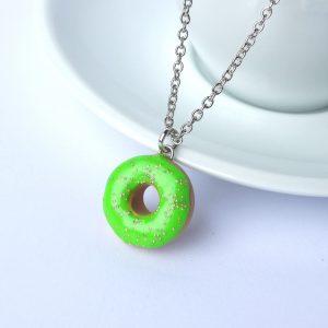 Donut ketting groen