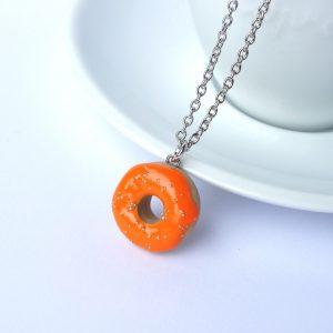 Donut ketting oranje