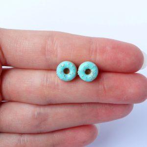 Donut oorstekers mint