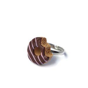 Donut ring chocolade