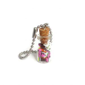 Engelse drop in glazen flesje model 2