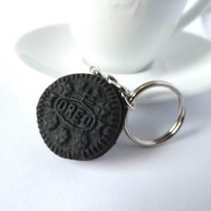 Oreo koekje sleutelhanger
