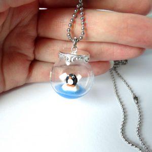 Pinguin ketting mini