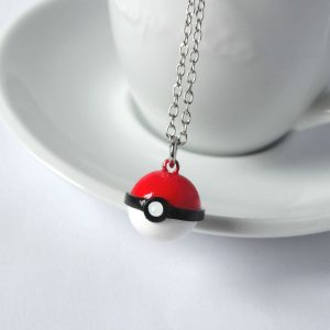 Pokemon pokebal ketting
