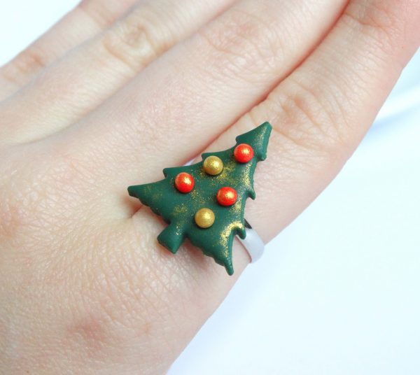 kerstboom ring