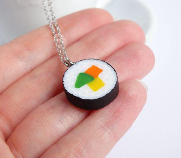 Sushi maki ketting