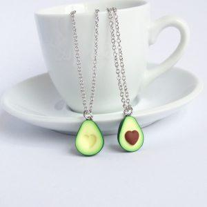 Avocado vriendschapsketting hartje