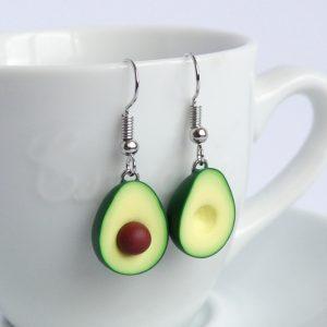 Avocado oorbellen