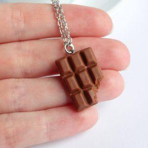 Melk chocolade ketting