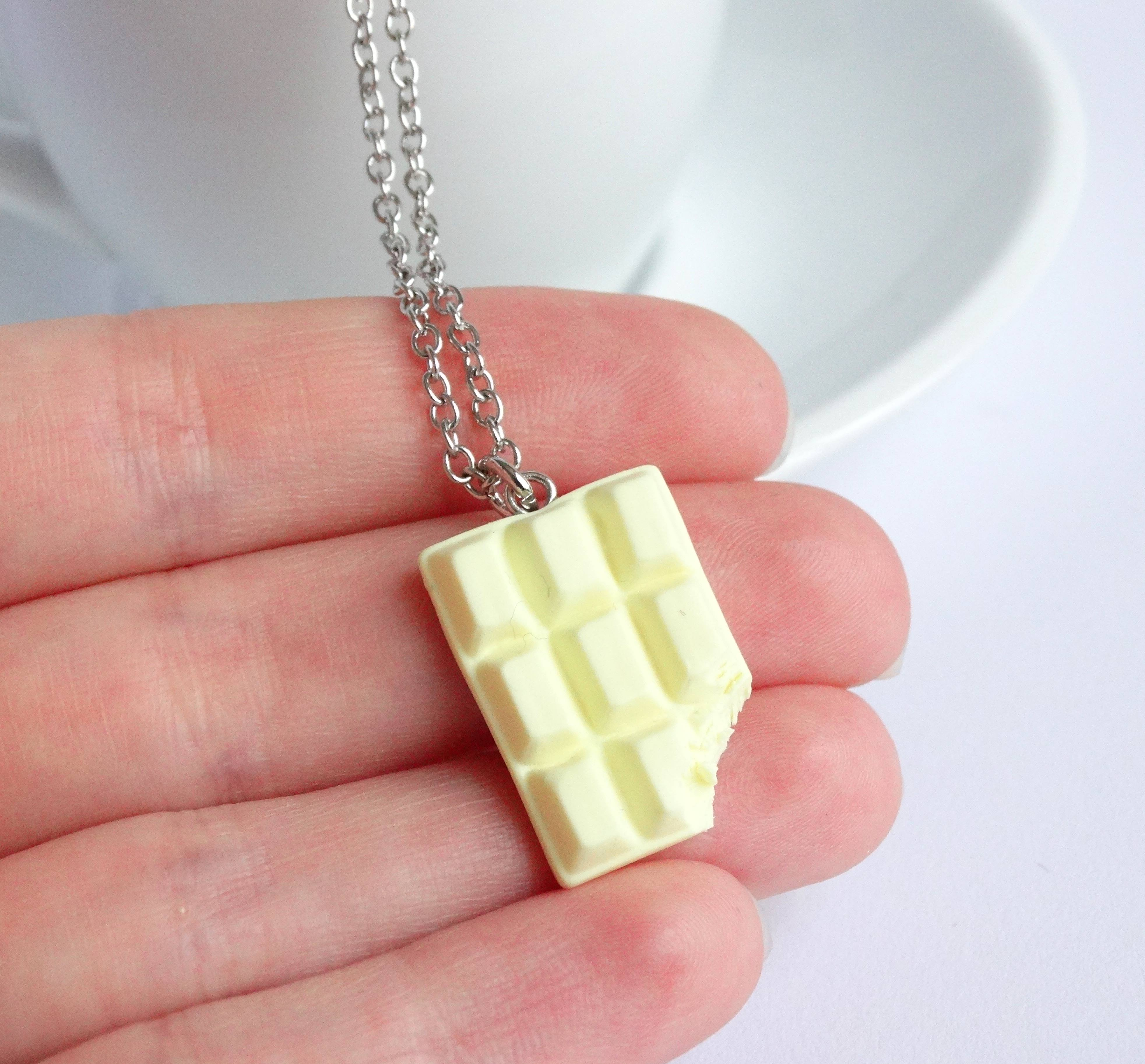 Witte chocolade ketting