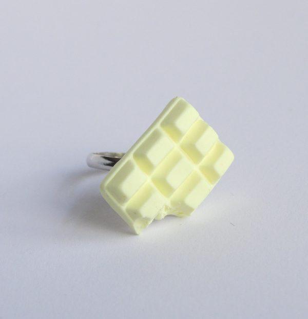Chocolade ring wit