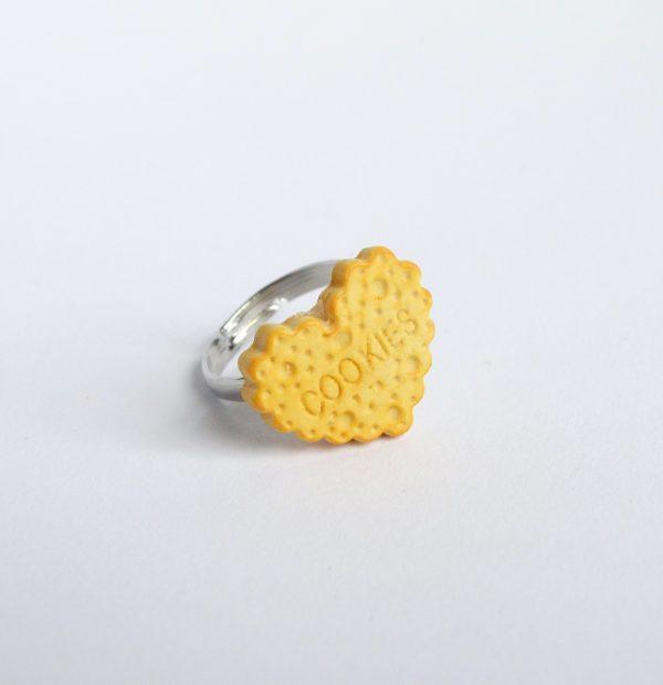 Hart koekje ring