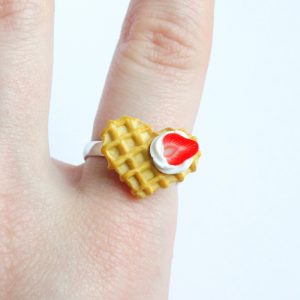 Wafel ring hart