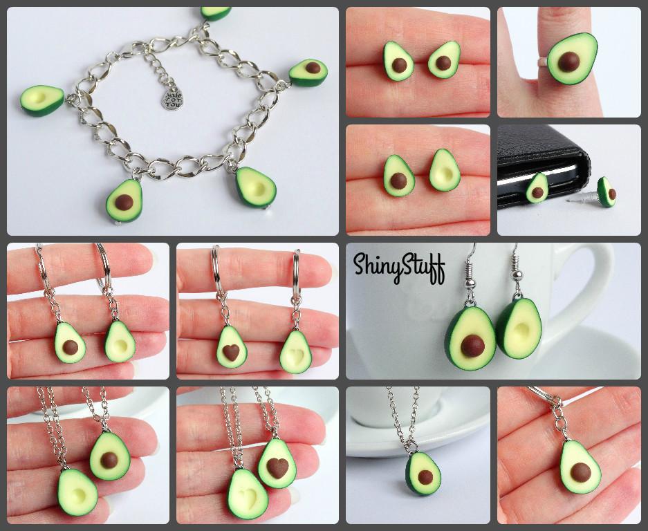 avocado sieraden
