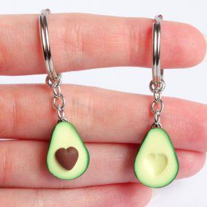 Avocado Sleutelhanger set hart