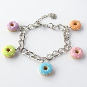 Donut bedel armband