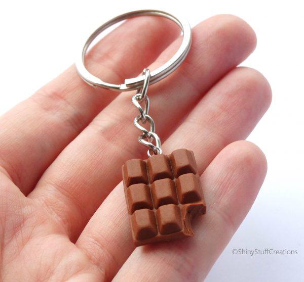 ChocoladeSleutelhangerMelk