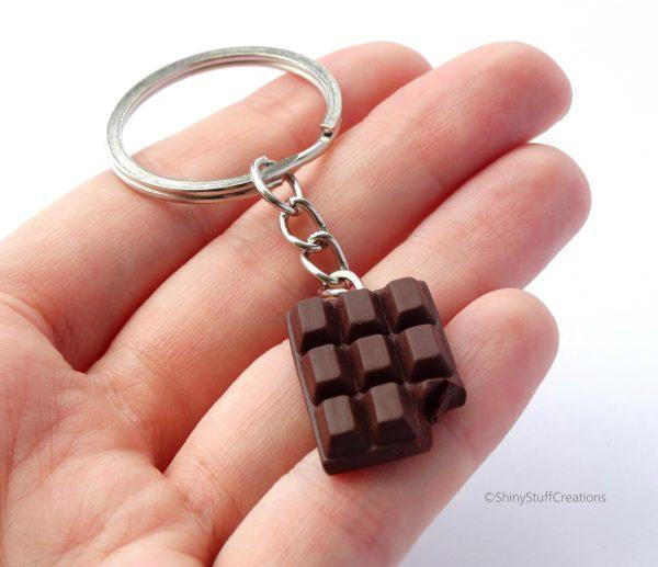 ChocoladeSleutelhangerPuur